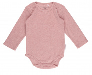 Little Dutch Romper Lange Mouw Pink