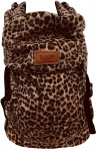 ByKay Click Carrier Classic Furry Leopard Rust