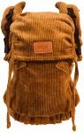 ByKay Click Carrier Deluxe Ribbed Velvet Mustard Brown