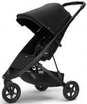 Thule Spring Stroller Black Inclusief Canopy Midnight Black