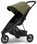 Thule Spring Stroller Black Inclusief Canopy Olive
