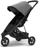Thule Spring Stroller Black Inclusief Canopy Grey Melange