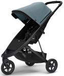 Thule Spring Stroller Black Inclusief Canopy Teal Melange