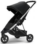 Thule Spring Stroller Aluminium Inclusief Canopy Midnight Black