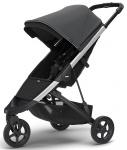 Thule Spring Stroller Aluminium Inclusief Canopy Shadow Grey