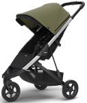 Thule Spring Stroller Aluminium Inclusief Canopy Olive