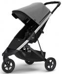 Thule Spring Stroller Aluminium Inclusief Canopy Grey Melange