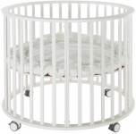 Europe Baby Box Circa Puur Rond Zonder Lade Wit