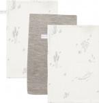 Little Dutch Washand Ocean White/Pure Grey/Ocean White 3-Pack