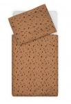 Jollein Dekbedovertrek Spots Caramel 100 x 140 cm