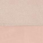 Jollein Ledikantlaken Snake Pale Pink 120 x 150 cm