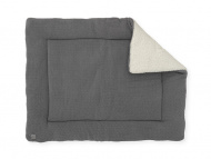 Jollein Boxkleed Bliss Knit Storm Grey  80 x 100 cm