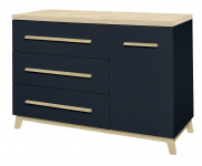 Commode 3 Laden/1 Deur Bradford