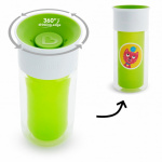 Munchkin Miracle 360º Insulated Personalises Cup Green