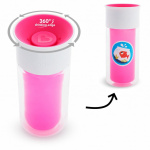 Munchkin Miracle 360º Insulated Personalises Cup Pink