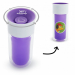 Munchkin Miracle 360º Insulated Personalises Cup Purple