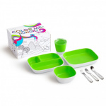 Munchkin Color Me Hungry Eetset Green