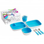 Munchkin Color Me Hungry Eetset Blue