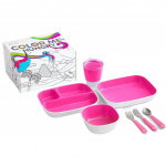 Munchkin Color Me Hungry Eetset Pink