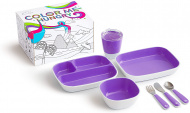 Munchkin Color Me Hungry Eetset Purple
