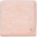 Jollein Wiegdeken Jersey Snake Pale Pink 75 x 100 cm