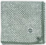 Jollein Wiegdeken Jersey Snake Ash Green  75 x 100 cm