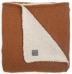 Jollein Wiegdeken Teddy Bliss Knit Caramel 75 x 100 cm