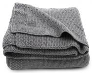 Jollein Ledikantdeken Bliss Knit Storm Grey 100 x 150 cm