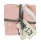 Briljant Monddoek Sunny Pink 3-Pack