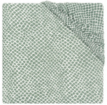 Jollein Wieghoeslaken Jersey  40 x 80 cm  Snake Ash Green