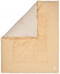 Koeka Boxkleed Wafel Amsterdam Sahara/Sand   80 x 100 cm