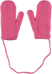 Sarlini Wanten Knit Teddy Voering Pink