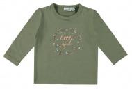 Babylook T-Shirt Little Girl Deep Lichen Green
