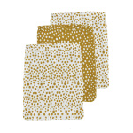 Meyco Washand Cheetah Honey Gold 3-Pack