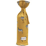 Meyco Kruikenzak Zebra Animal Honey Gold