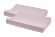 Meyco Aankleedkussenhoes 2pck Basic Jersey Lilac