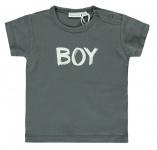 Babylook T-Shirt Korte Mouw Boy Asphalt