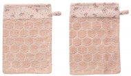 Bébé-Jou Washand Fabulous Wish Pink   2-Pack