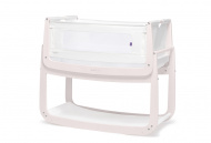 SnüzPod4® Bedside Crib Rose White/Blush