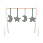 Jollein Speelgoed  Voor Babygym Toys Moon Ash Green