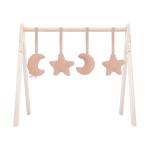 Jollein Speelgoed Voor Babygym Toys Moon Pale Pink