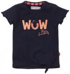 Dirkje T-Shirt Korte Mouw Wow Navy