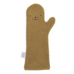 Invented 4 Kids Washand Baby Shower Glove Seal Caramel