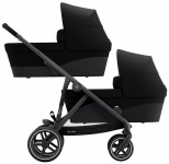 Cybex Gazelle S BLK Twin Deep Black/Black