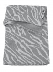 Meyco Ledikantdeken Velvet Zebra Grijs 100 x 150 cm