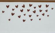 Meyco Ledikantlaken Hearts Camel 100 x 150 cm