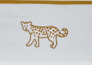 Meyco Wieglaken Cheetah Honey Gold 75 x 100 cm