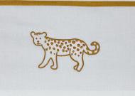 Meyco Ledikantlaken Cheetah Honey Gold 100 x 150 cm