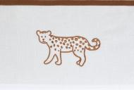 Meyco Ledikantlaken Cheetah Camel 100 x 150 cm