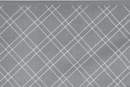 Meyco Ledikantlaken Double Diamond Grey  100 x 150 cm